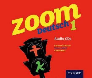 Zoom Deutsch 1 Audio CD's Set of 4