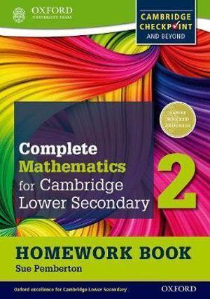 Oxford International Maths for Cambridge Secondary 1 Homework Book 2 (Pack of 15