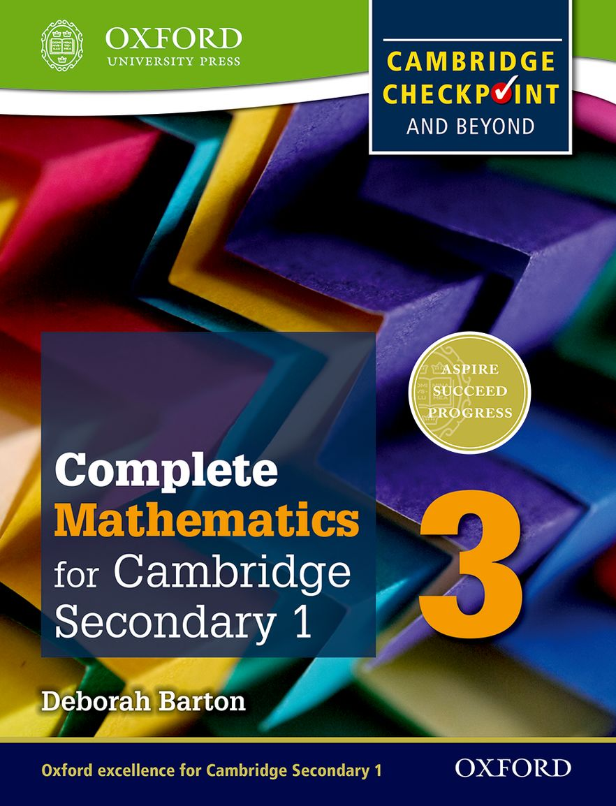 Oxford International Maths for Cambridge Secondary 1 Student Book 3