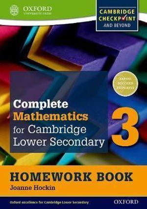 Oxford International Maths for Cambridge Secondary 1 Homework Book 3 (Pack of 15