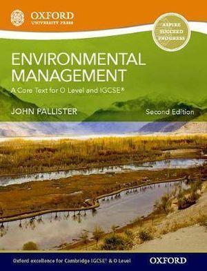 Environmental Management for Cambridge O Level & IGCSE Student Book