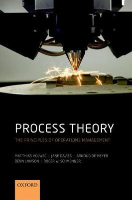 Process Theory The Principles of Operations Management