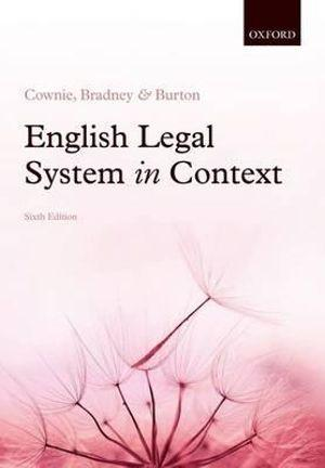 English Legal System in Context