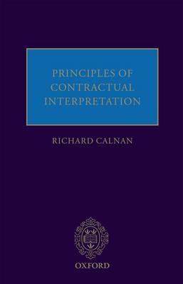 Principles of Contractual Interpretation