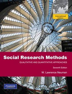 Social Research Methods: Qualitative and Quantitative Approaches: International Edition