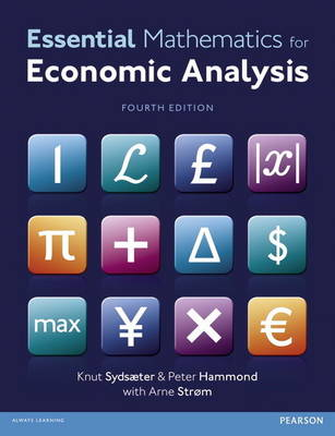Essential Mathematics for Economic Analysis with MyMathLab Global AccessCard (new copies only)
