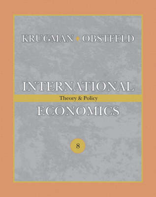 International Economics: Theory and Policy plus MyEconLab plus eText 1-semester Student Access Kit