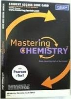 Mastering Chemistry with Pearson eText -- Valuepack Access Card -- for Introductory Chemistry (ME Component)