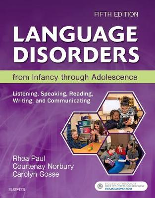 Language Disorders from Infancy through Adolescence: Listening, Speaking, Reading, Writing, and Communicating