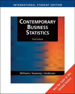 Contemporary Business Statistics, International Edition (with Student  CD-ROM)