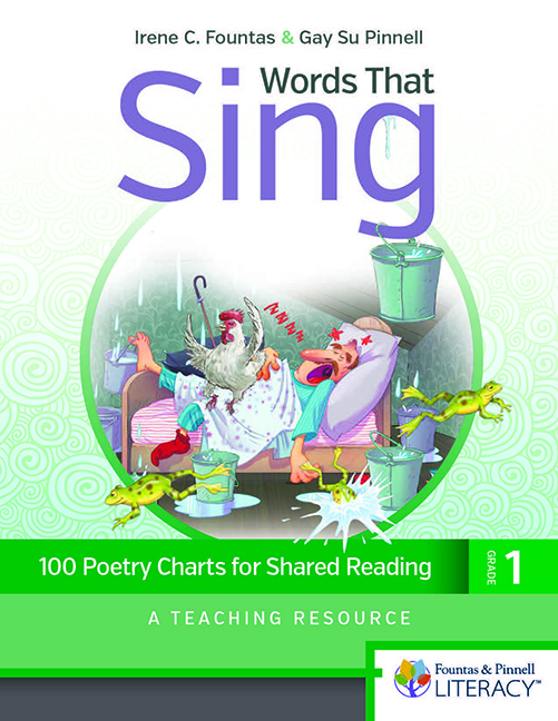 Words That Sing, Grade 1: 100 Poetry Charts for Shared Reading