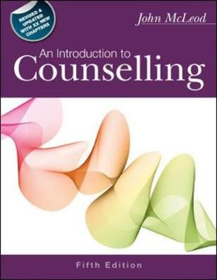 Introduction To Counselling, Sc 5E
