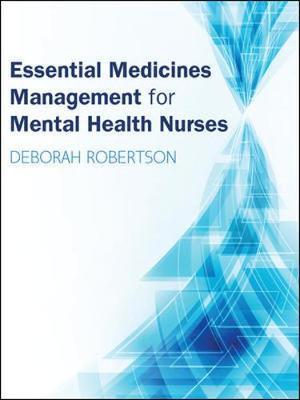 Essential Medicines Management for Mental Health Nurses