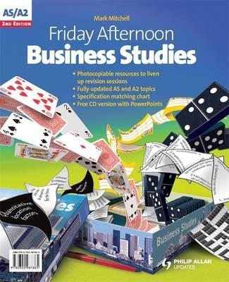 Friday Afternoon Business Studies A-Level Resource Pack 2nd