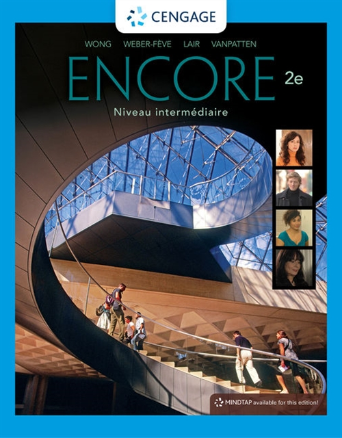 Encore Intermediate French, Student Edition : Niveau intermediaire