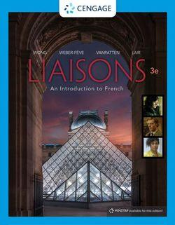 Liaisons, Student Edition : An Introduction to French