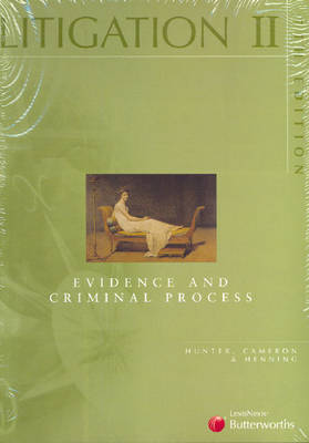 Litigation II: Evidence and Criminal Process