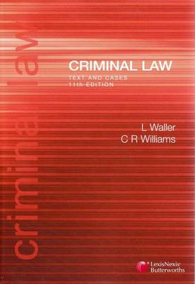 Criminal Law: Text and Cases