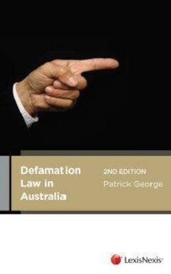 Defamation Law In Australia, 2nd Edition
