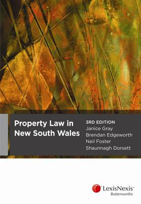 Property Law in NSW, 3rd edition
