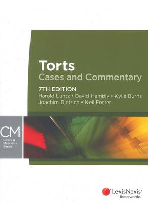 Torts: Cases & Commentary 7th Edition