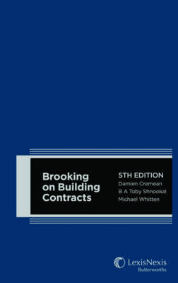 Brooking on Building Contracts, 5th edition