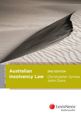 Australian Insolvency Law, 2nd Edition