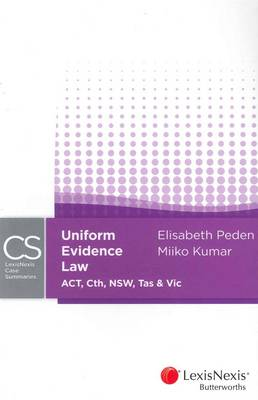 LNCS: Uniform Evidence Law