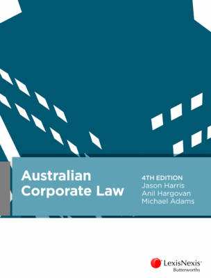 Australian Corporate Law 4th Edition
