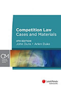 Competition Law: Cases and Materials, 4th edition