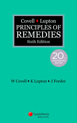 Covell & Lupton Principles of Remedies, 6th edition