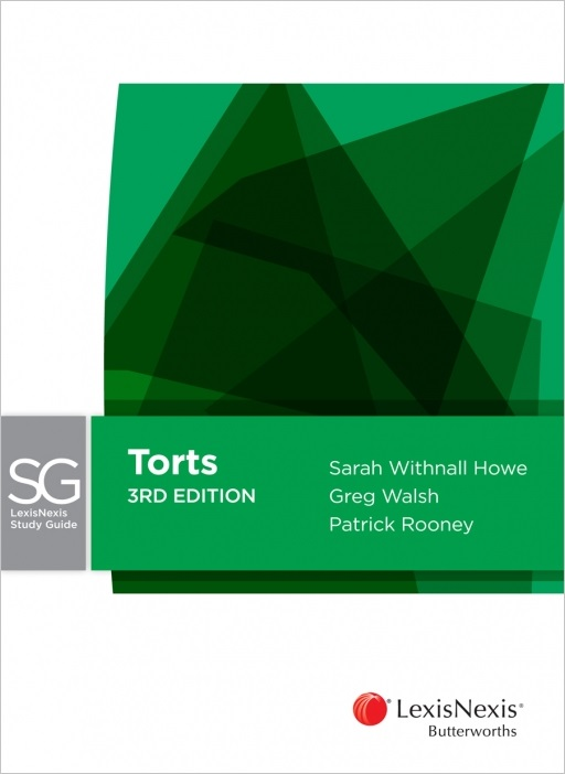 LexisNexis Study Guide Torts, 3rd edition