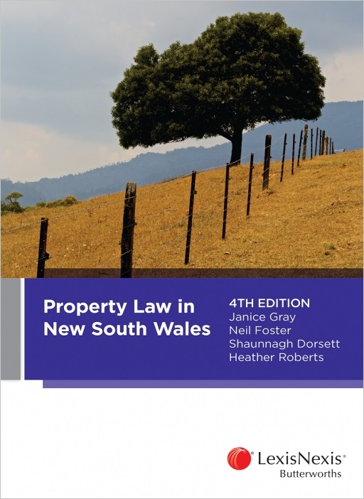 Property Law in New South Wales, 4th edition