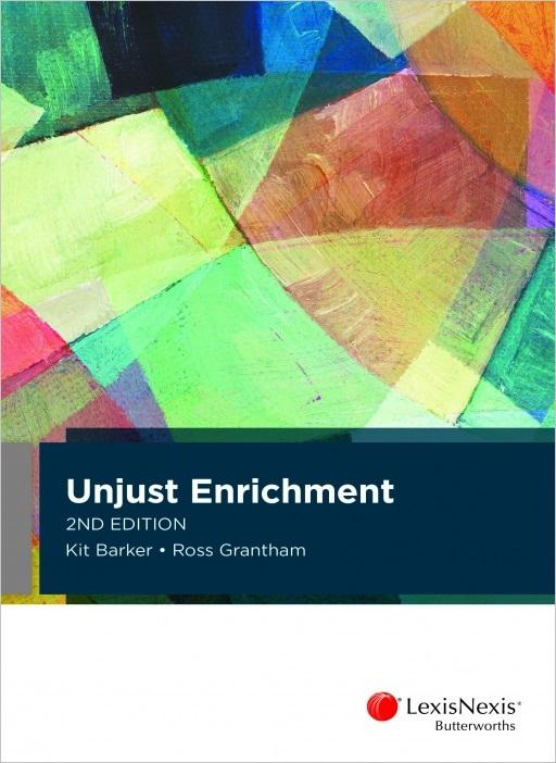 Unjust Enrichment, 2nd edition