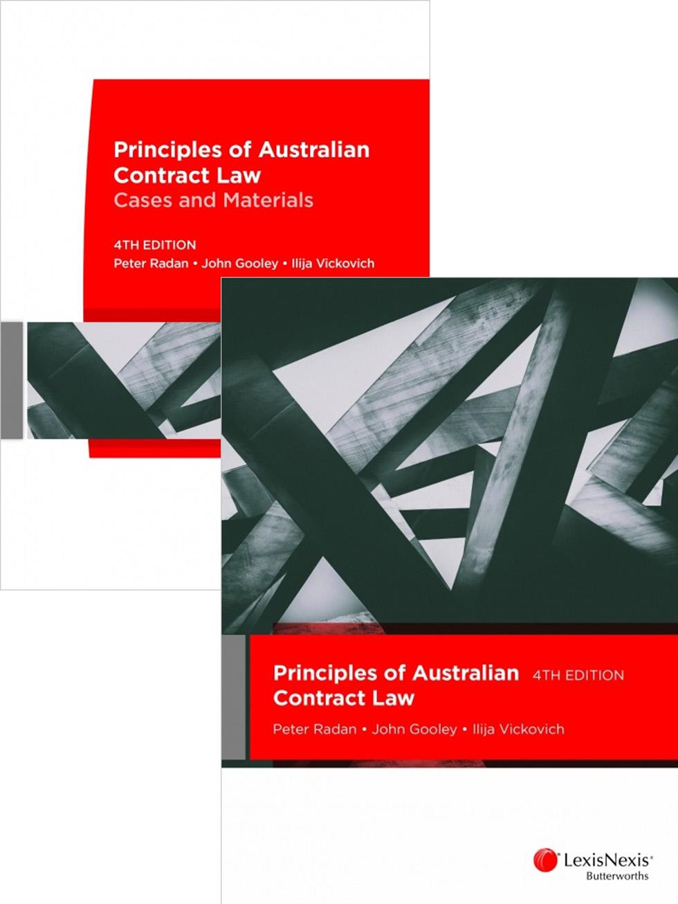 Principles of Australian Contract Law 4E + Principles of Australian Contract Law Cases and Materials 4E