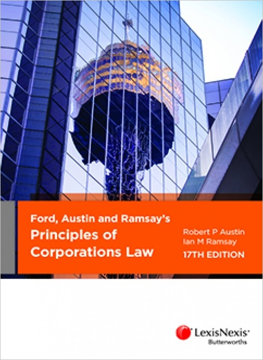 Ford, Austin and Ramsay's Principles of Corporations Law, 17th edition