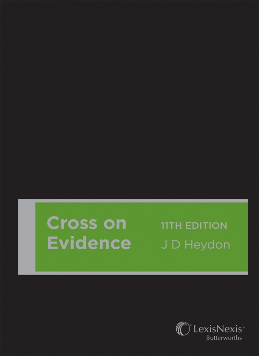 Cross on Evidence, 11th edition (Cased)