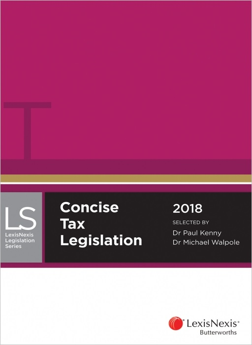 Concise Tax Legislation 2018