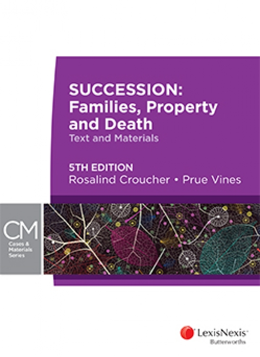 Succession: Families, Property and Death, 5th edition