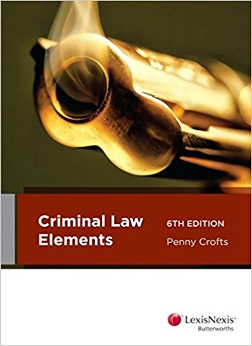 Criminal Law Elements, 6th edition