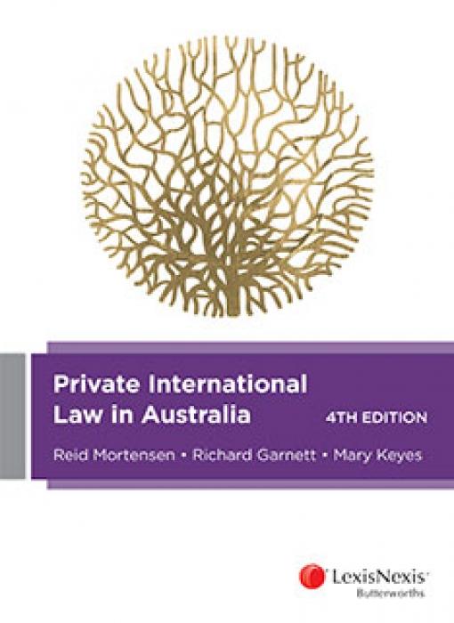 Private International Law in Australia, 4th edition