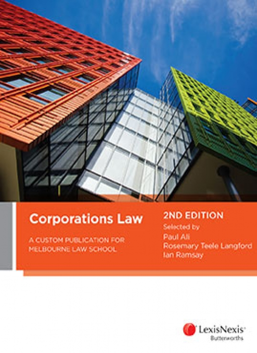 Corporations Law: A Custom Publication for Melbourne Law School, 2nd edition