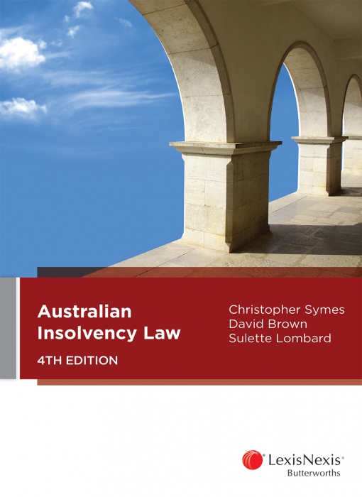 Australian Insolvency Law, 4th edition