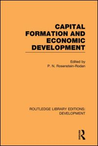 Capital Formation and Economic Development