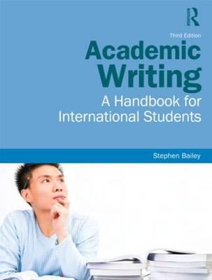 Academic Writing: A Handbook for International Students