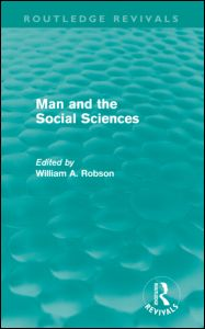 Man and the Social Sciences (Routledge Revivals)