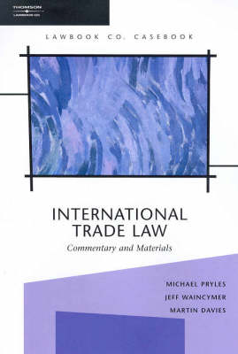 Int'l Trade Law C&M 2e