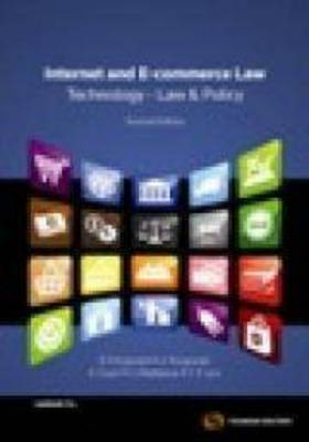 Internet and E-commerce Law: Business and Policy