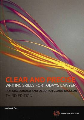 Clear&Precise Writing Skills Today's Law