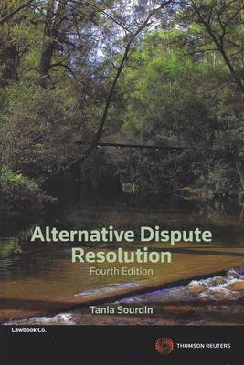 Alternative Dispute Resolution 4th Edition
